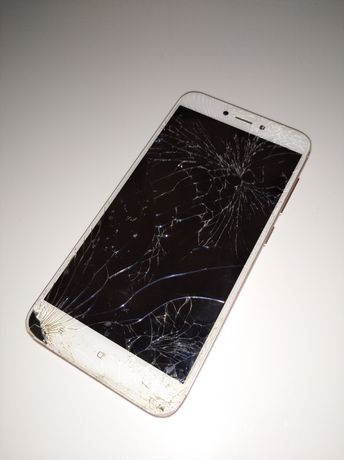Смартфон xiaomi redmi 4x битый на запчасти