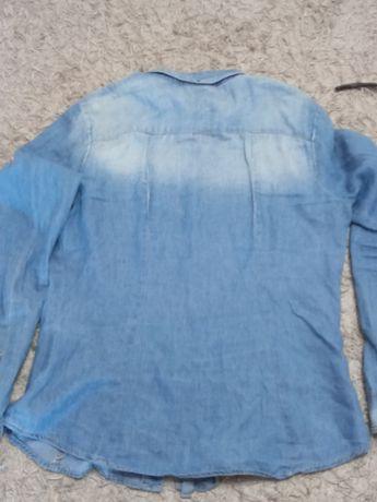 Koszula jensowa Bershka L
