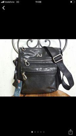 Armani Jeans сумка на плечо  через плечо с  логотипом