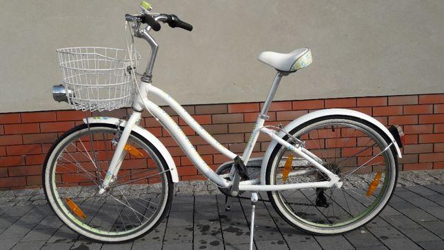 """Rower miejski GIANT 24"""" kolor biały"""