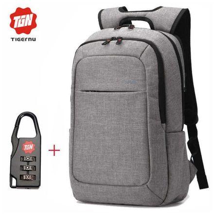 Городской рюкзак от бренда Tigernu +ПОДАРОК замок антивор!