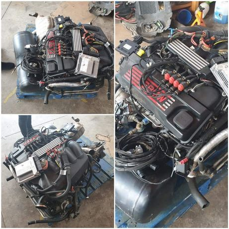 Motor completo bmw 318i com kit gpl