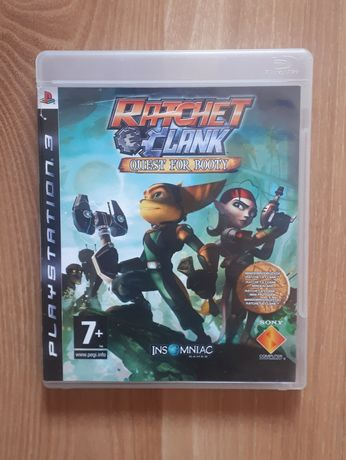 Gra dla dzieci na PlayStation 3 (ps3), Ratchet clank quest for booty