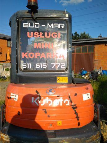 Usługi koparką  BUD  MAR