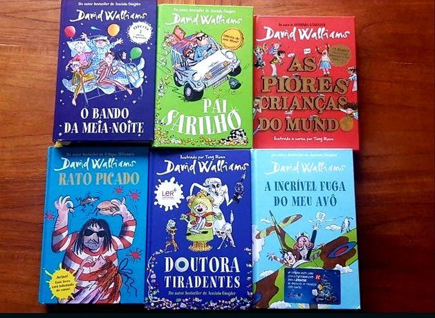 Davis Walliams - livros juvenis