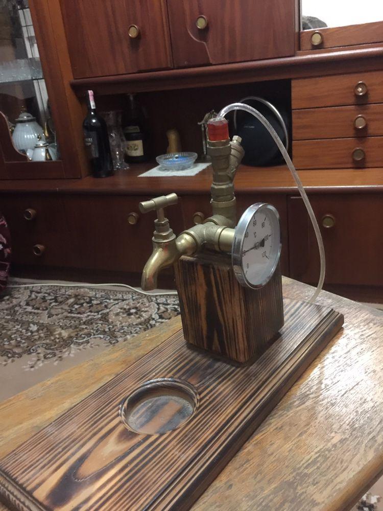 Подставка для виски в стиле лофт