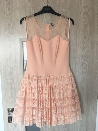 Rozkloszowana sukienka r 38