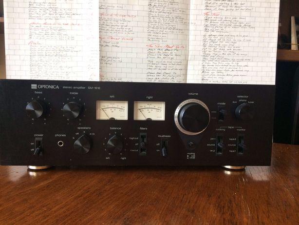 Аудиофильский усилитель SHARP Optonica SM-1616 из 70-х