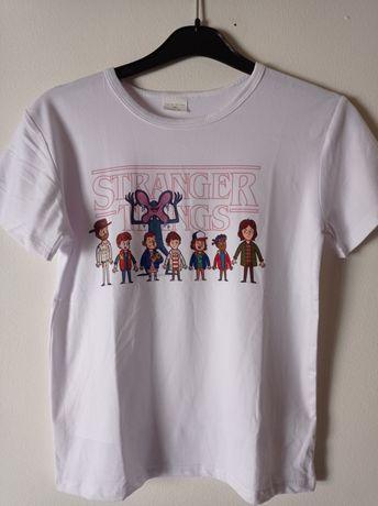 Stranger Things t-shirt nova 9anos portes grátis