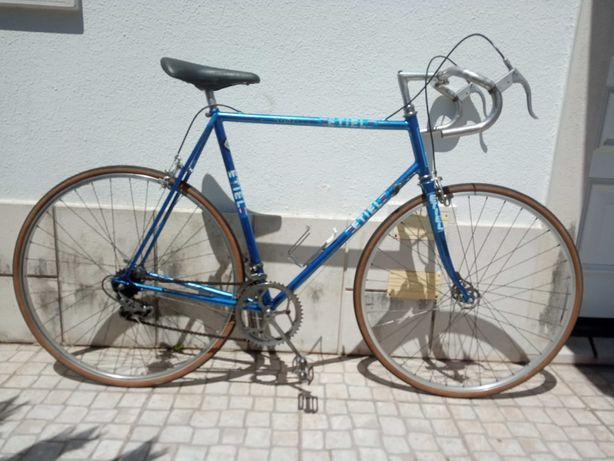 Bicicleta estrada Etiel homem classica vintage r700c Azul Tam 60 Vitus