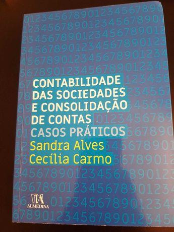 """Livro """"Contabilidade das Sociedades e Consolidação de Contas)"""""""