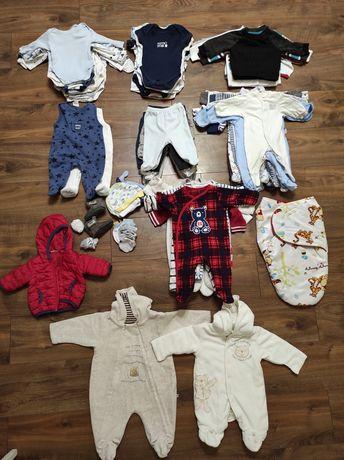 Пакет одежды для новорожденного 50 56 62 0-3 мес