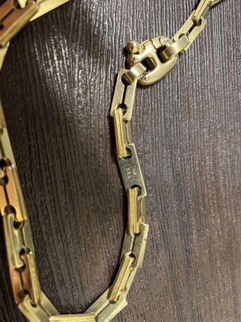 Золотая цепь Baraka585 лезвие