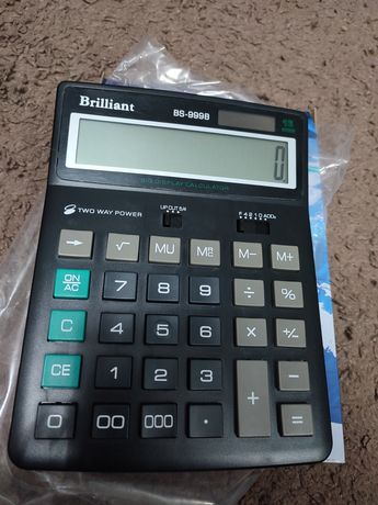 Продам новый калькулятор Brilliant BS999B