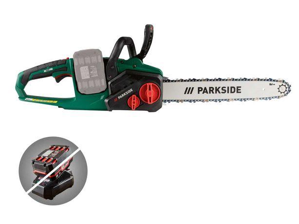 Motoserra PARKSIDE PKSA 40-Li A1 sem bateria ou carregador