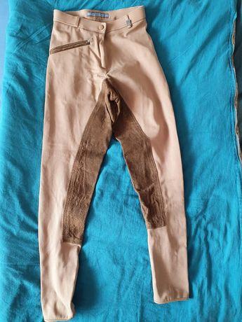 Bryczesy, spodnie do jazdy 34