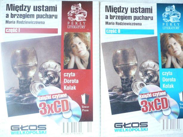 Między ustami a brzegiem Maria Rodziewiczówna 6CD audiobook