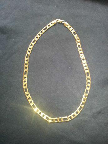 Vendo fio de prata 925 kilates banhado a  ouro imecavel e bem estimsdo