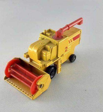 Matchbox Combine Harvester , kombajn zbożowy, 1977
