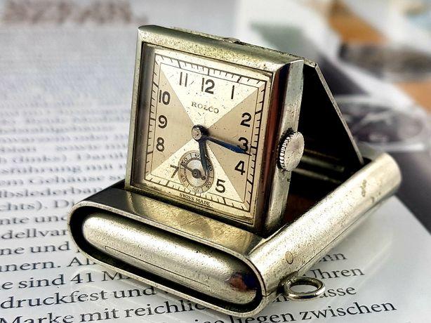 Zegarek Rolex Rolco kieszonkowy , wisiorek , Unikat lata 20 Vintage
