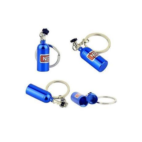 brelok do kluczy w kształcie butli NOS nitro turbo racing,