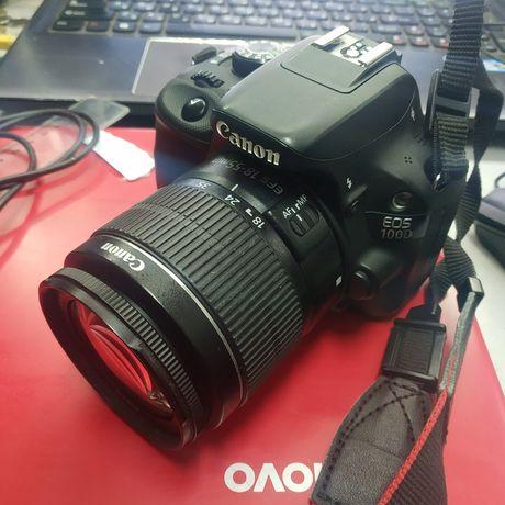 Фотоапарат Canon EOS 100d  ef s 18-55mm
