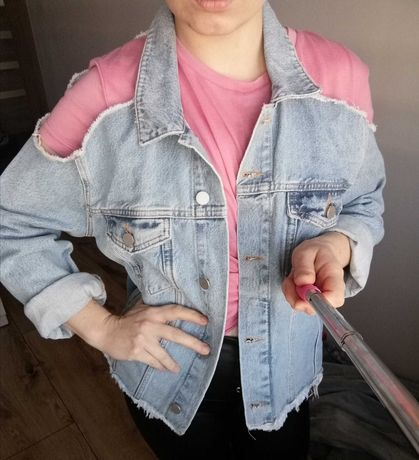 Kurtka jeansowa cold arms M Na-Kd Nowa z metką!