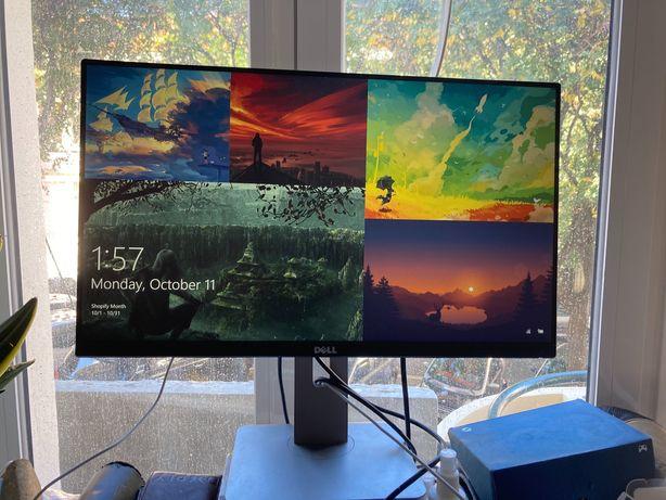 "DELL UltraSharp U2414H 23.8"" Full HD Preto monitor"
