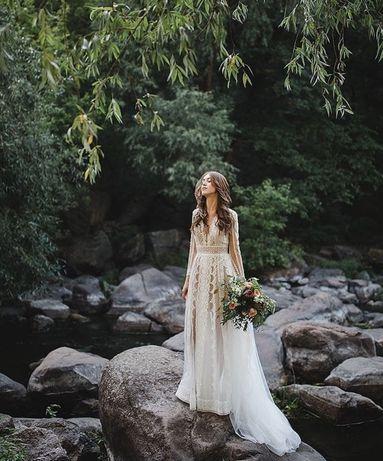 Свадебное платье бохо Olivia от Красновой