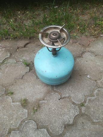Butla gazowa z palnikiem i palnik do lutowania