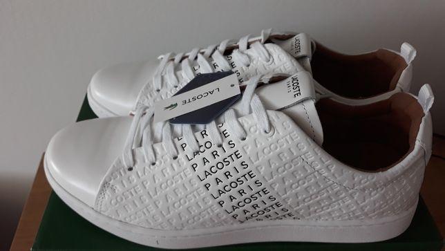 Nowe buty lacoste 43 skóra