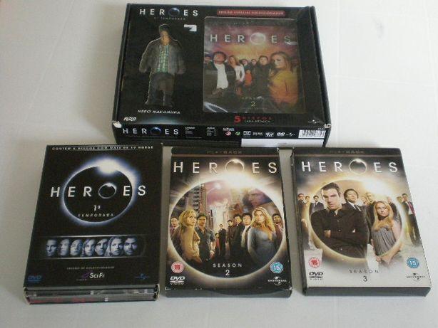 Heroes - série 1 2 3 + especial 2