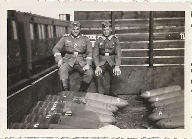 Stare zdjęcia Wehrmacht saperzy 1940