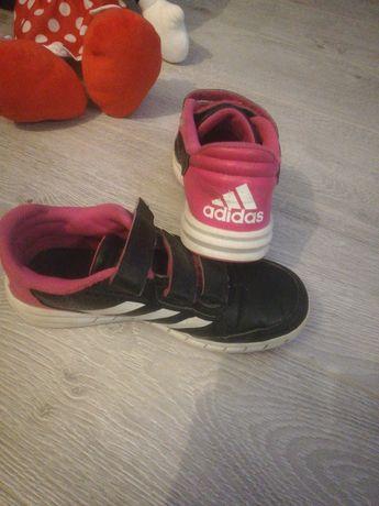 Adidasy Czarny i róż Marki ADIDAS rozmiar 32