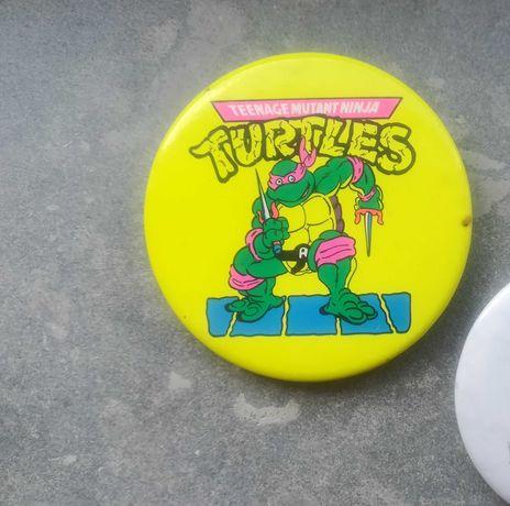 Tartarugas ninja crachá pin