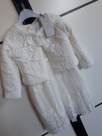 Sukienka elegancka chrzest wesele smyk  cool club