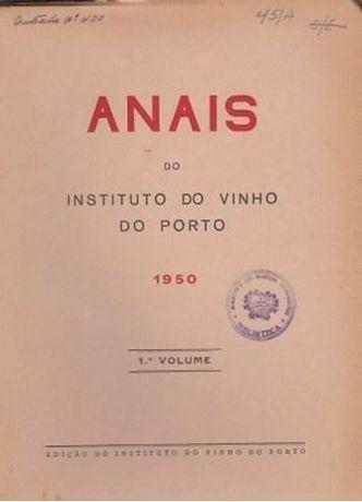 Anais do Instituto do Vinho do Porto 1950