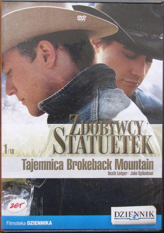 Tajemnica Brokeback Montain film DVD - 3 Oscary 2006 rok