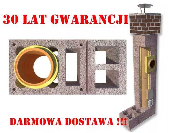 Komin 7m KW+W2 fi 200 Komin systemowy Ceramiczny Dostawa Gratis!!!