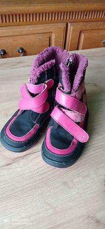 Ocieplane buty rozmiar 27