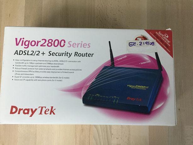 Router Draytek Vigor 2800vg ADSL 2/2+ c/ WiFi, VoIP e VPN