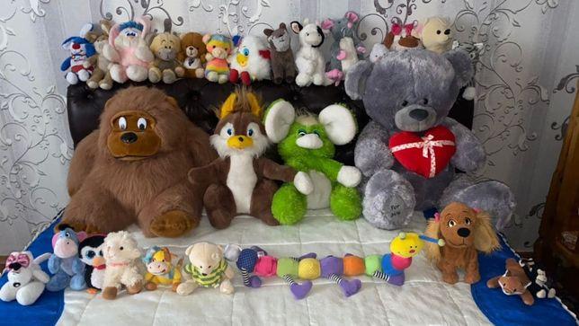 игрушки мягкие как новые
