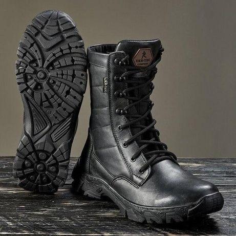 Зимние Кожаные Берцы Evolution Сапоги Ботинки Шкіряні Зимові Берці