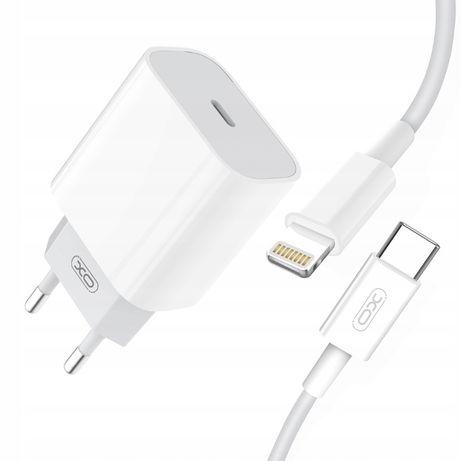 Szybka ładowarka 20w + kabel do iPhone lightning, ładowarka do iPhone