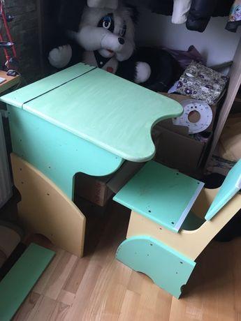 Парта-трансформер со стулом