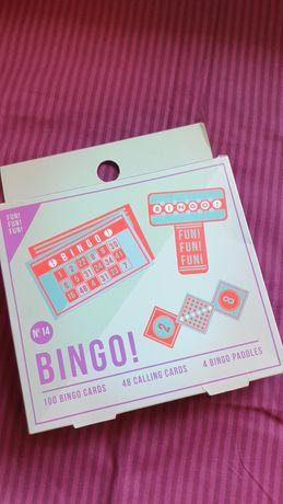 Jogo bingo novo selado