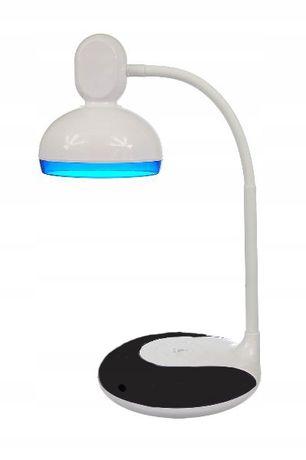 LAMPKA BIURKOWA LED szkolna na biurko USB RETRO prosta