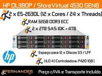 4TB SAS   HP Storage   32vCPUS   32GB DDR3 RAM   NAS   BAKCUPS  