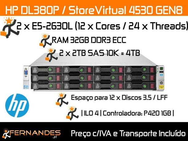 4TB SAS | HP Storage | 32vCPUS | 32GB DDR3 RAM | NAS | BAKCUPS |