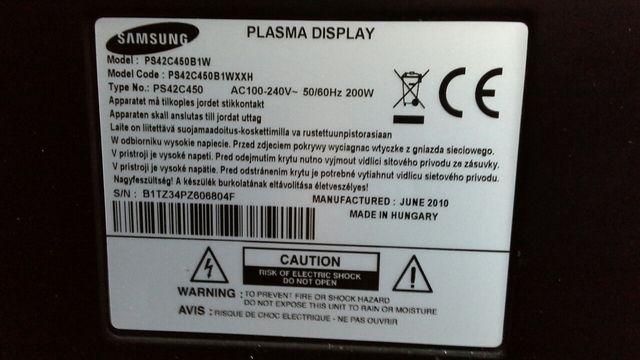 Telewizor Samsung 42 cale.
